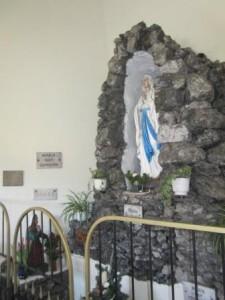 Kapelle-Statue