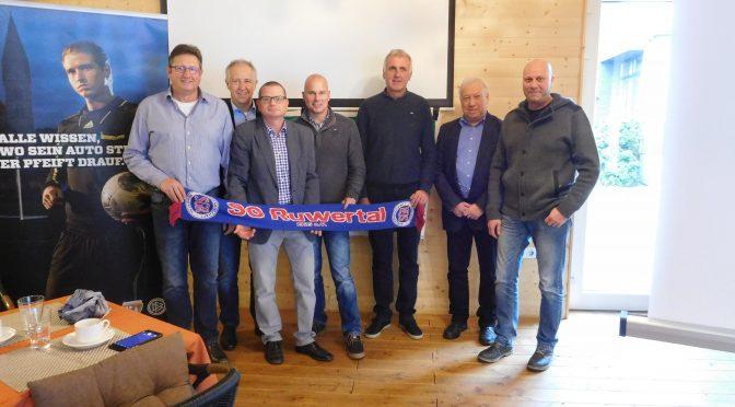 Ernst Willems aus Kasel als Kreissieger des Fussballkreis Trier-Saarburg geehrt