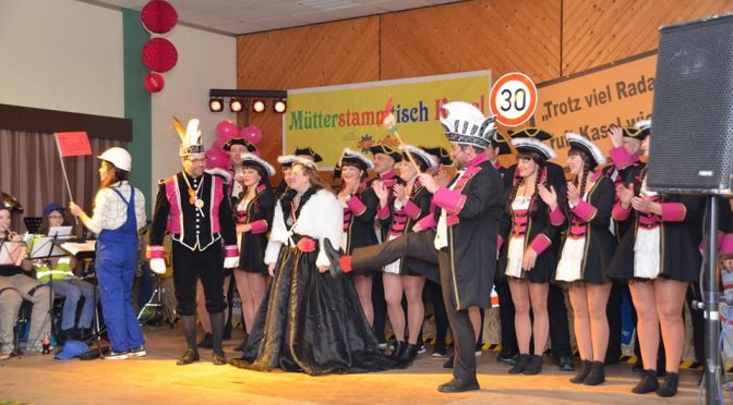 Kasel feierte rauschende Fastnachtsparty im Gemeindehaus